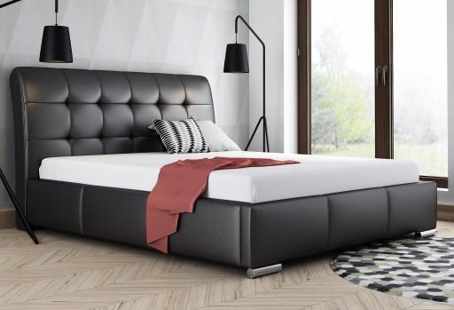 łóżko Tapicerowane 140x200 Stelaż Dostawa 7 Dni 7352098287