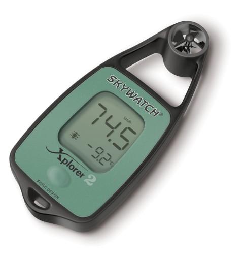 Wiatromierz anemometr termometr SKYWATCH XPLORER 2