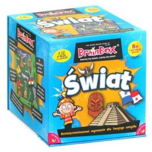 Gra Albi Brain Box Świat wys 24h