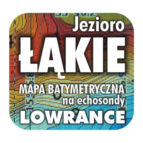 Jezioro Łąkie mapa na echosondy Lowrance Simrad BG