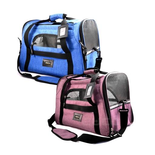 torba do transportu psa, kota w aucie, samolocie