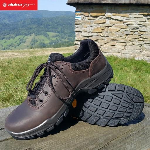 ALPINA PRIMA LOW Trekkingowe VIBRAM 100%EU r.40