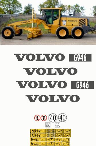 VOLVO G 946 naklejki naklejka