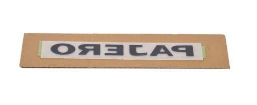 Naklejka napis osłona klamki tył PAJERO MN146696