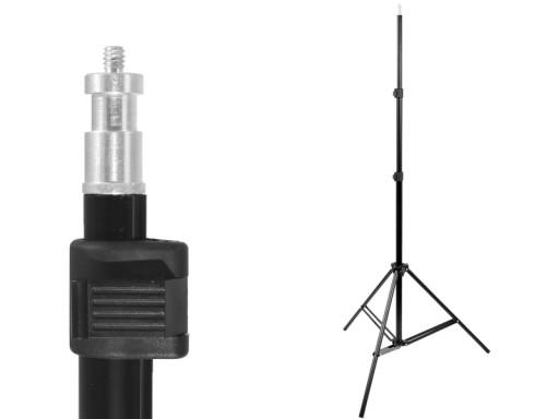 Solidny STATYW oświetleniowy 72-230 cm 803 16 mm