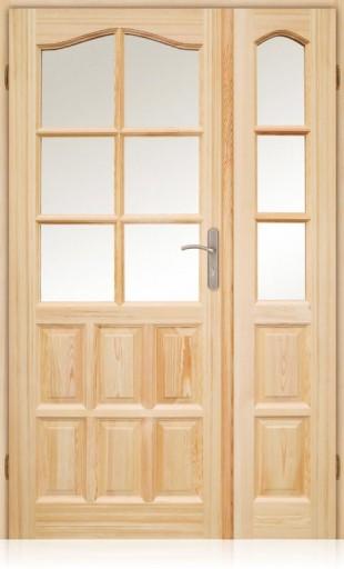 Producent Sosnowe Drewniane Drzwi Futryna W Cenie 7324790044