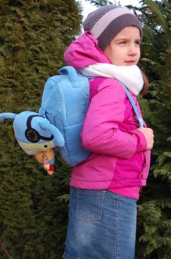 Plecak dla dzieci ECOSNOOPERS MONSTER Blue wys24h