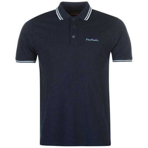 Koszulka Polo PIERRE CARDIN 100% Bawełna tu L