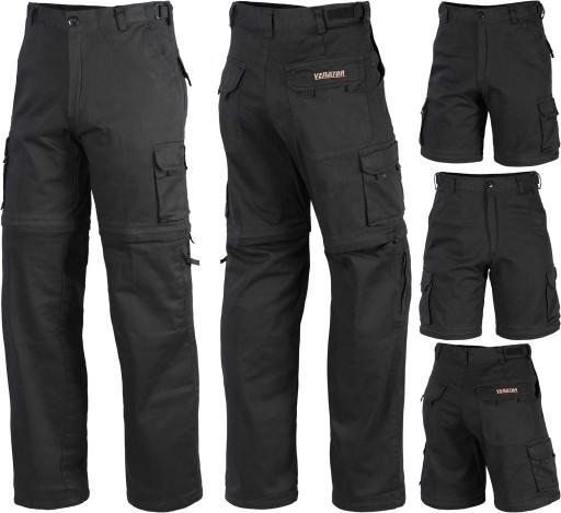 Spodnie BOJÓWKI 2w1 + krÓtkie spodenki Venator 44 9851819631 Odzież Męska Spodnie RF TRIARF-1