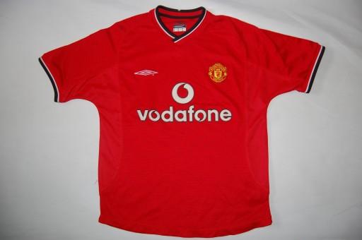 Koszulka oldschool Umbro Manchester United Roz 164
