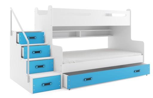 łóżko Piętrowe Dla Dzieci Max 3 200x120 Szuflada