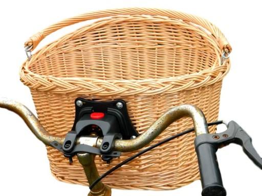 948b96fb4f7790 KOSZYK ROWEROWY z wikliny click KOSZ na rower 5116671035 - Allegro.pl