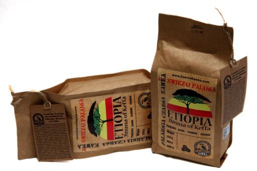 Kawa świeżo palona ETIOPIA Jimma of Keffa AA 1kg доставка из Польши Allegro на русском