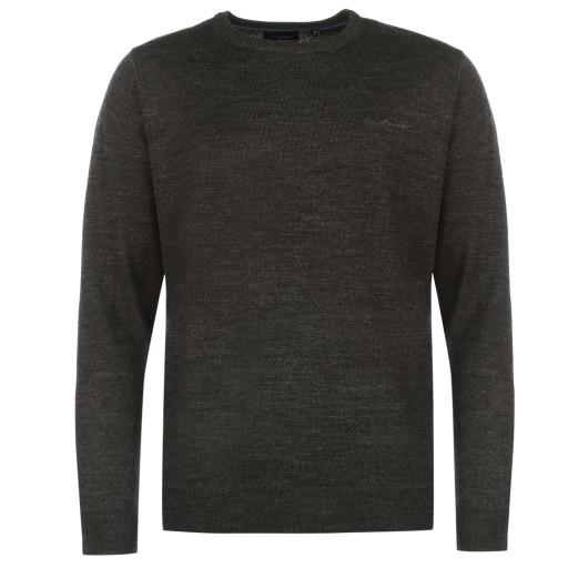 Sweter Męski Pierre Cardin modny L okrągły od ręki