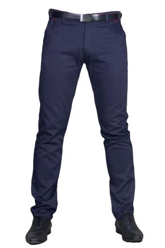 Spodnie wizytowe atrament 1938 fashionmen2 rozm.50 7701261169 Odzież Męska Spodnie RZ ZDIFRZ-1