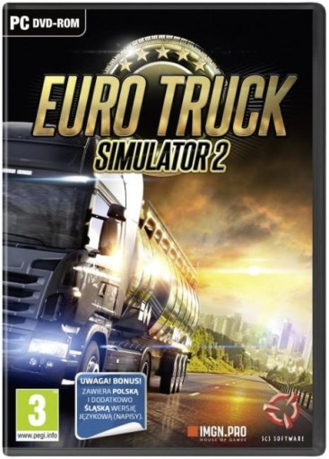EURO TRUCK SIMULATOR 2 ETS 2 ETS2 SYMULATOR PC PL