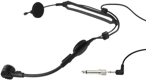 dynamiczny mikrofon nagłowny HM-30 MONACOR