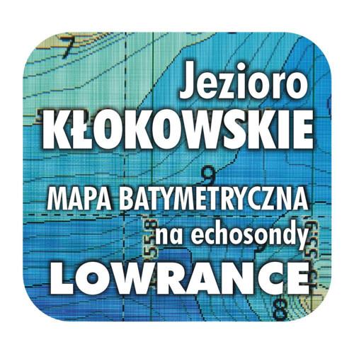 Jezioro Kłokowskie mapa na echosondy Lowrance BG
