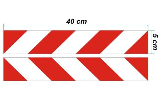 TRANSFERS BELT WARNING THE LAMP - 5 x 40 cm