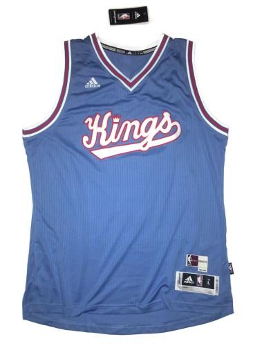 wysoka jakość szeroki wybór Cena hurtowa Koszulka koszykarska Sacramento Kings Adidas NBA L