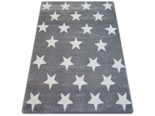 Dywany łuszczów Sketch 140x190 Gwiazdki Ruta Pasy