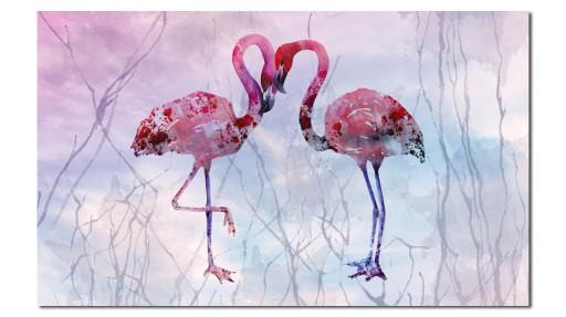 Obraz Xxl Flaming 9 120x70cm Na Płótnie Flamingi 7134893032