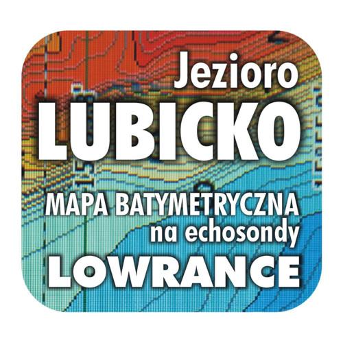Jezioro Lubicko mapa na echosondy Lowrance SImrad