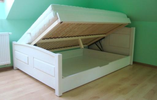 łóżka Drewniane Z Pojemnikiem 120x200 Xt05 Getclopa