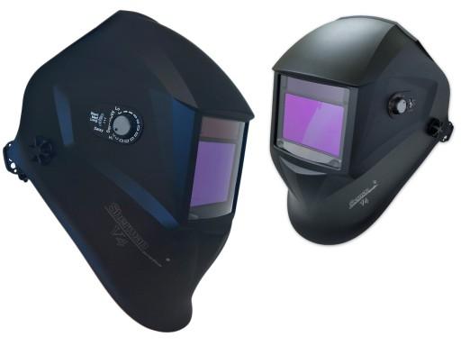 MASKA przyłbica spawalnicza AUTOMATYCZNA LCD 4 sen