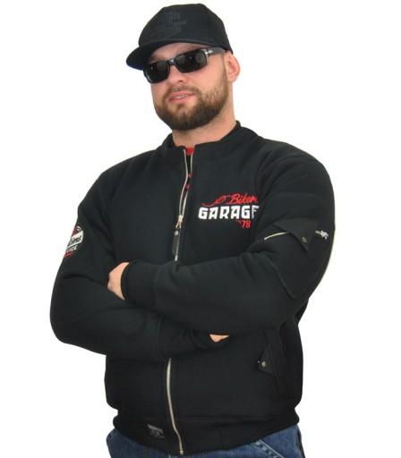 Kurtka męska, motocyklowa bluza chopper bobber XL