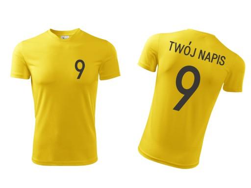 Koszulka piłkarska sportowa ODDYCHAJĄCA - L