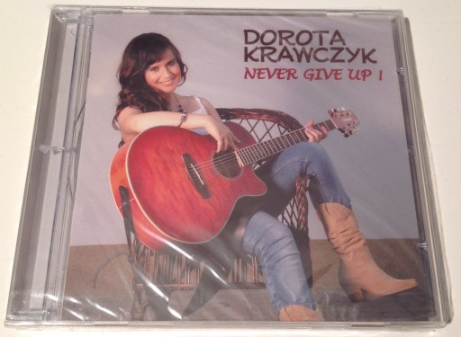 DOROTA KRAWCZYK - NEVER GIVE UP! /CD/ /FOLIA/
