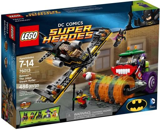 Lego Batman Super Heroes 76013 Parowy Walec Jokera