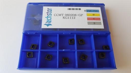 Płytki CCMT 060208-GP  KG1112  - Faktura