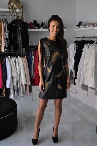 d9e9296813 SALE GIL SANTUCCI sukienka kolekcja 18 19%%%% 7488151080 - Allegro.pl