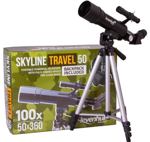Levenhuk Skyline Travel 50 Teleskop Refractor