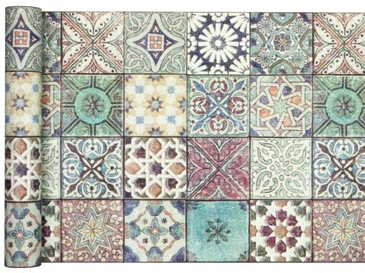 Tapeta Marokańska Mozaika Kafelki Płytki Fliz