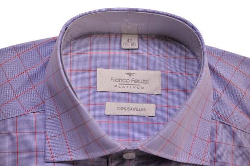 Elegancka męska koszula XL 43 176-182 na spinki