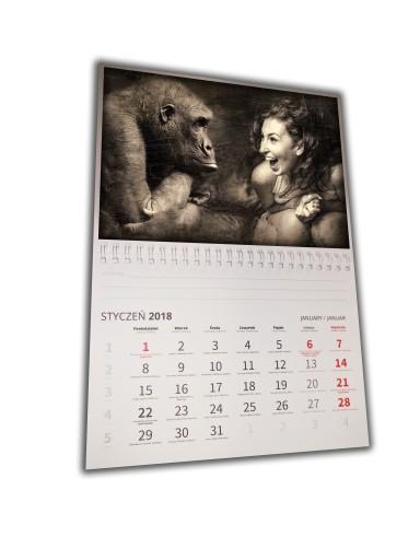 МАГНИТНЫЙ ФОТО календарь А4 + ФОТО +NOTES 24 ЧАСА
