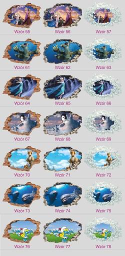 Naklejka na ścianę Frozen Kraina Lodu 100x70 ELSA
