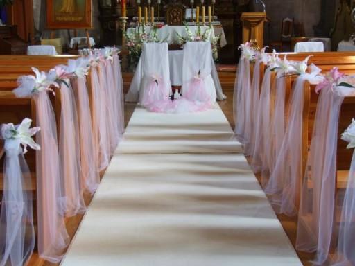 Stroik Do Dekoracji Kościoła ślub 7148236098 Allegropl