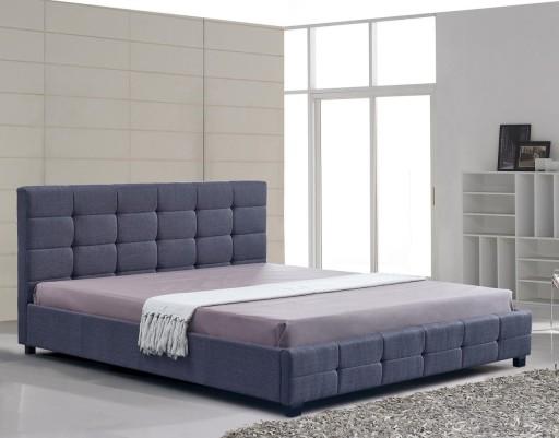 łóżko Tapicerowane Alteastelaż Materac 140x200