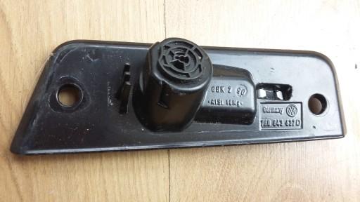 PŁYTKA OPOROWA DRZWI PRZESUWNYCH VW T5  7H0843637D