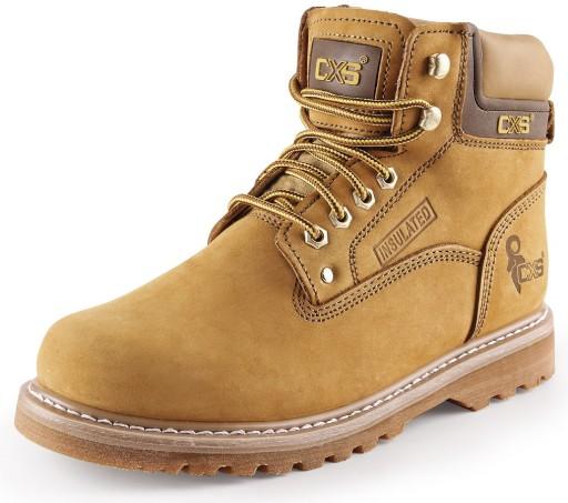 LEKKIE i WYGODNE buty skórzane trekingowe ROAD 46