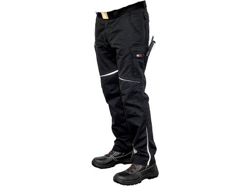 spodnie czarne robocze allegro