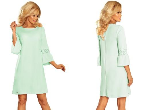 9e52a87b3a Krótkie Letnie Sukienki WIZYTOWE DO PRACY 190-4 XL 7451378687 ...