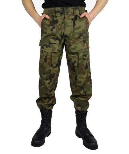 5de5d6a47 Spodnie Wojskowe BOJÓWKI POLSKIE MORO Z GUMKĄ M/S Waga (z opakowaniem) 0.6
