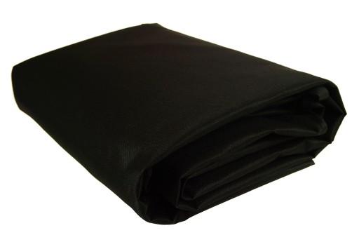 Pokrowiec Osłona na Grilla Czarny 165x118x60cm