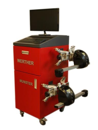Werther Мюнстер 4008BT устройство для геометрии колес