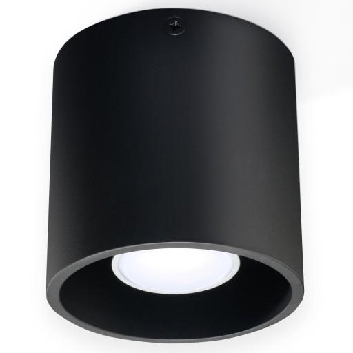 Plafon KOŁO Lampa Sufitowa rolka CYLINDER Halogen